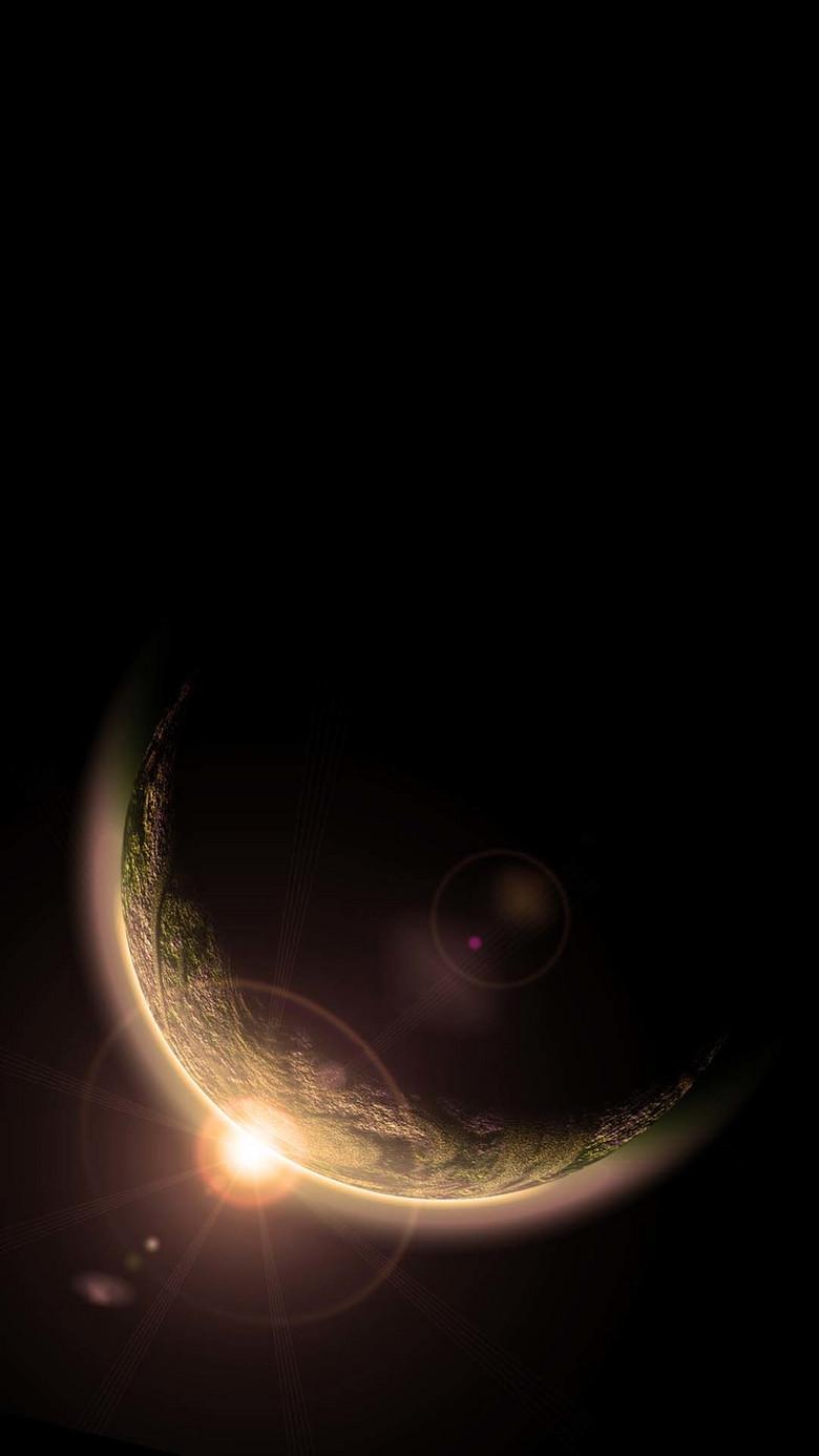 星球宇宙科幻H5背景
