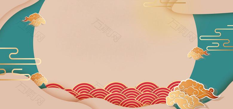 中秋国庆双节同庆创意海报