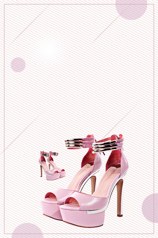 鞋子海报背景素材