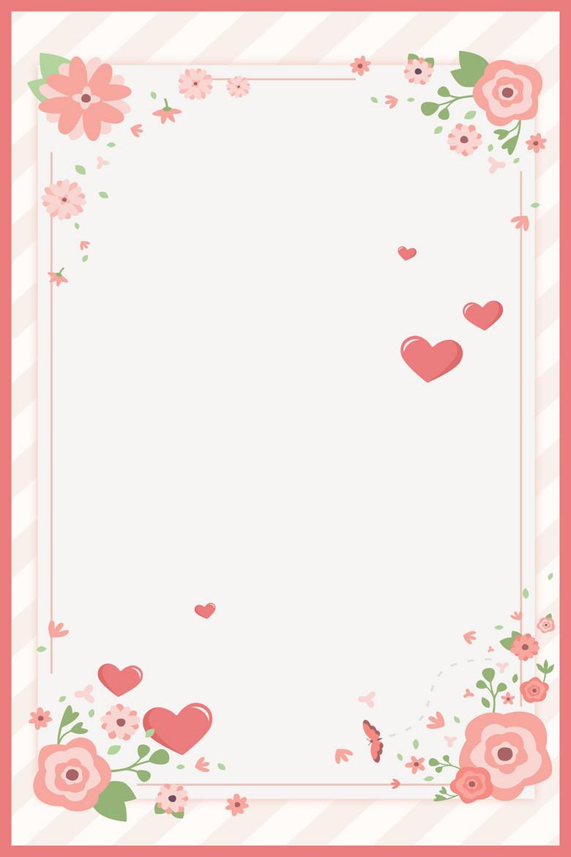 简约温馨花卉妇女节海报