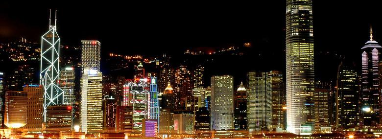 唯美城市夜景