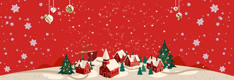 圣诞首页海报