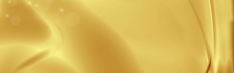 大气金色丝绸海报banner背景图
