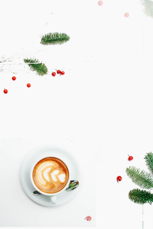 创意简洁下午茶咖啡