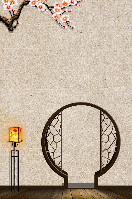 中国风复古家具木门