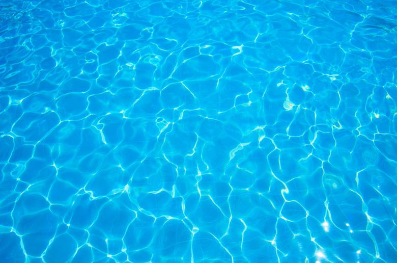 泳池水底浪漫背景