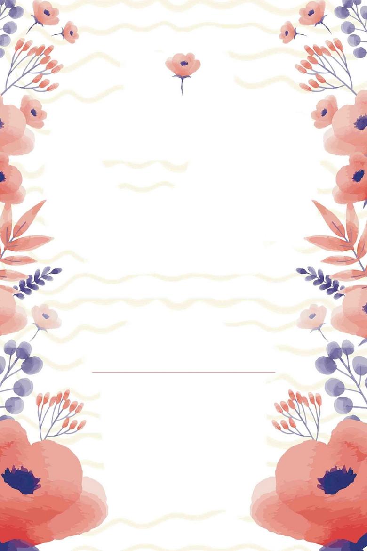 感恩母亲节公益促销水彩创意海报背景模板