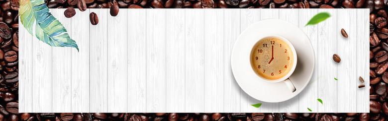 清新下午茶餐厅咖啡甜点海报设计