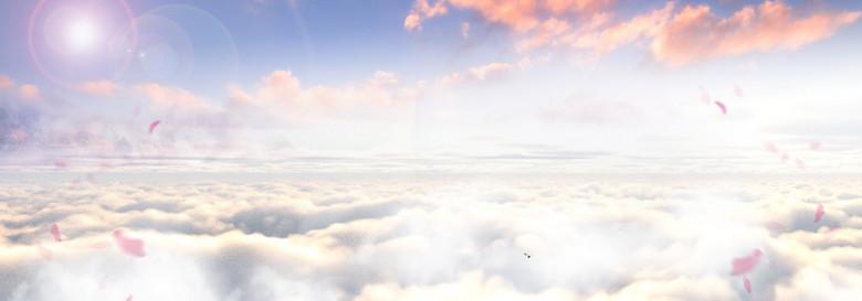 唯美天空背景
