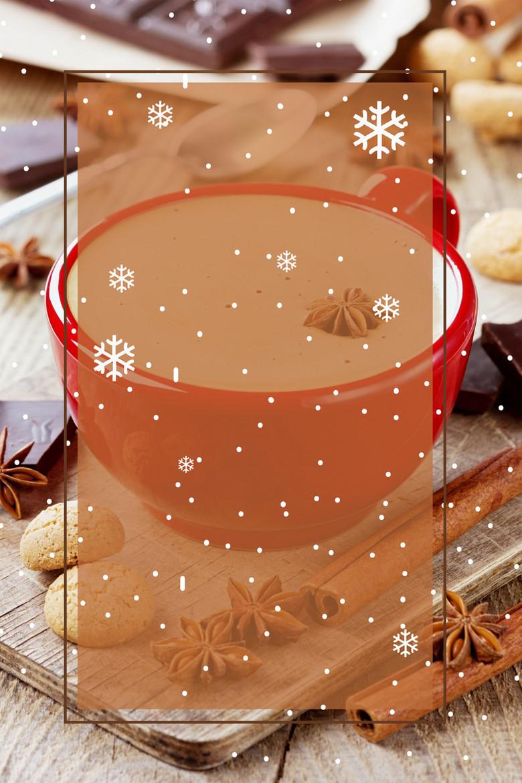 美味奶茶宣传海报背景素材