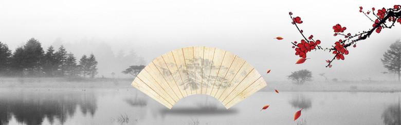 中国风秋冬背景图