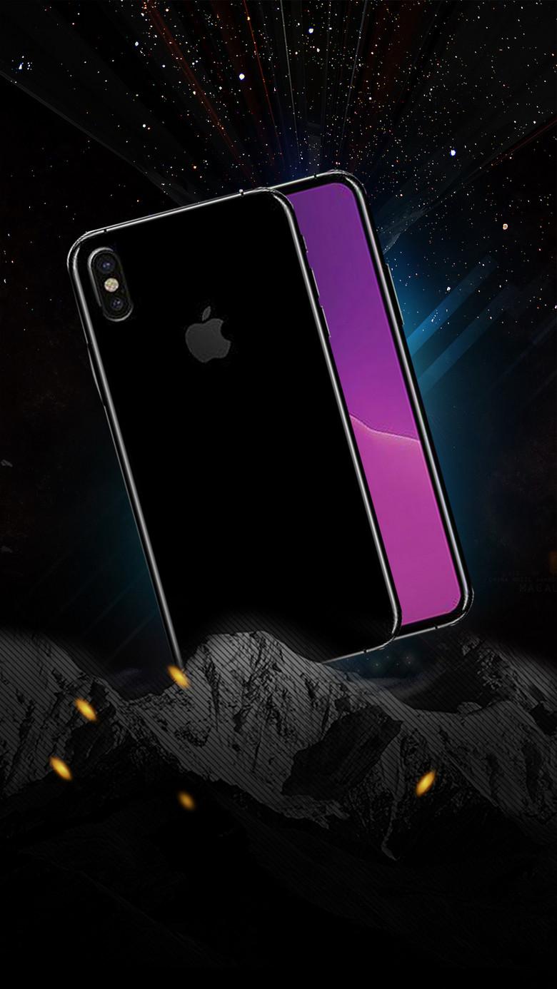 黑色炫酷iPhone8震撼预售