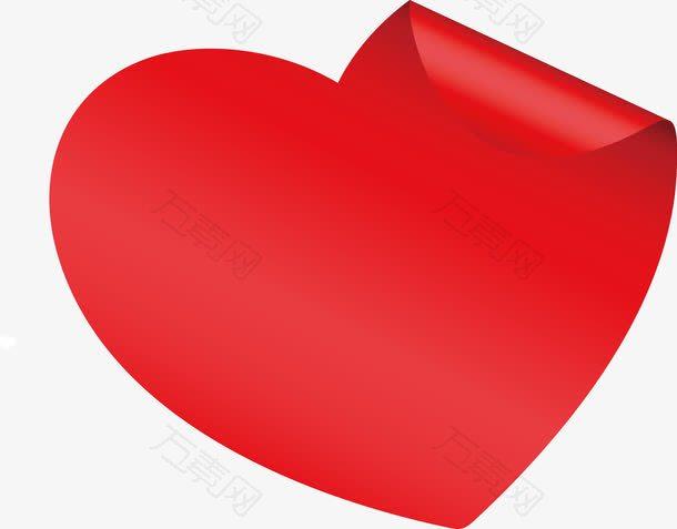 情人节红色心形爱心