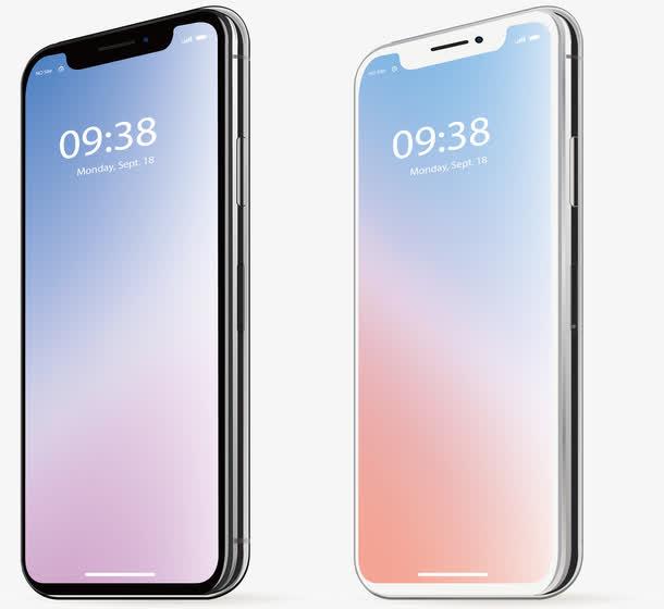 黑白新款苹果手机