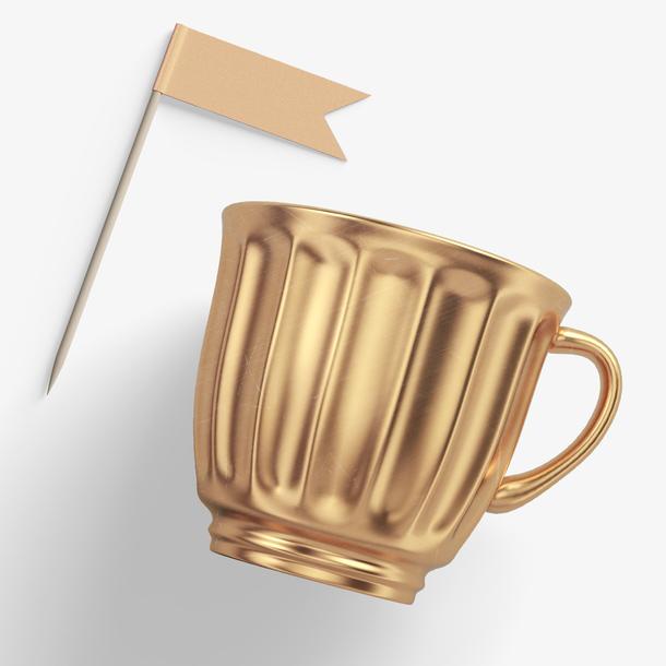 杯子创意女生化妆品静物摆件场景