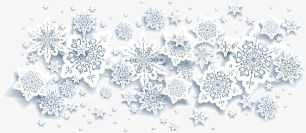 雪花冬季素材