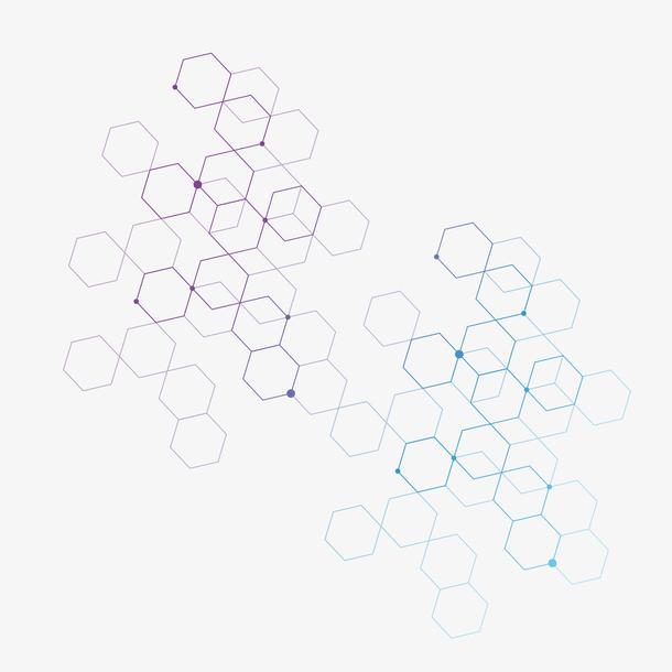 矢量装饰创意几何抽象科技