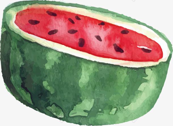 图一半的西瓜