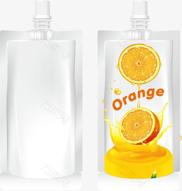 柠檬包装素材