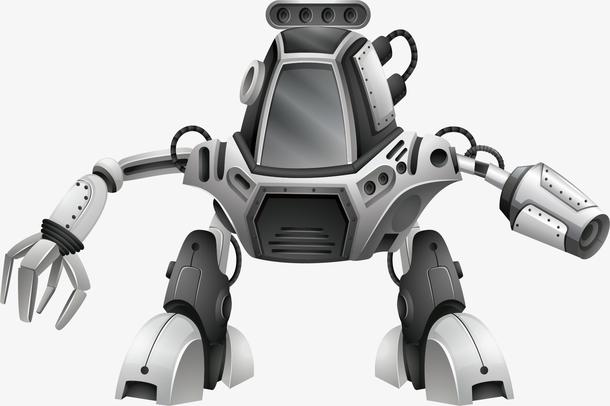灰色高科技机器人