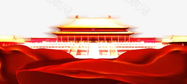 中国风建党节banner