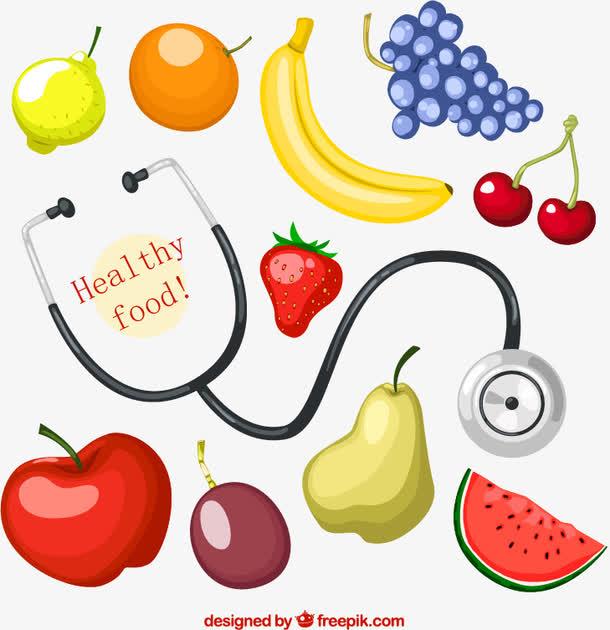 说明健康的食物免费下载