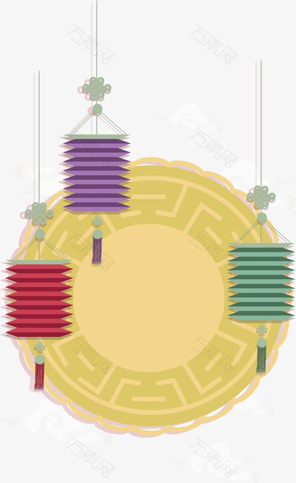 中秋月饼灯笼