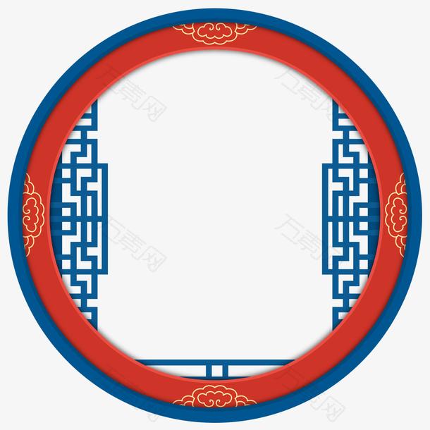 国潮中国风边框