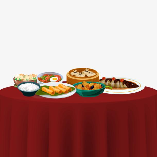 春节年夜饭食物设计