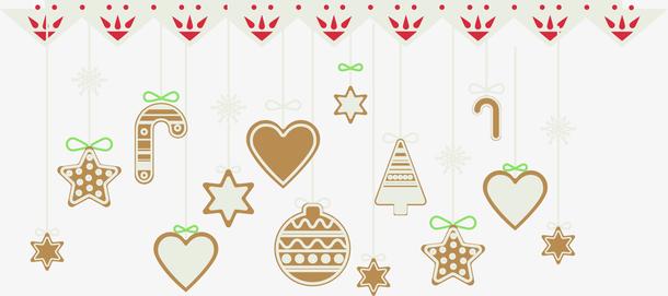 矢量圣诞装饰