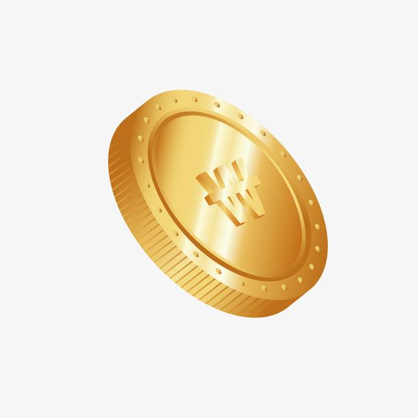 金币飞舞金币装饰