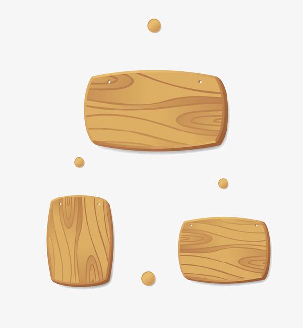 木纹按钮矢量