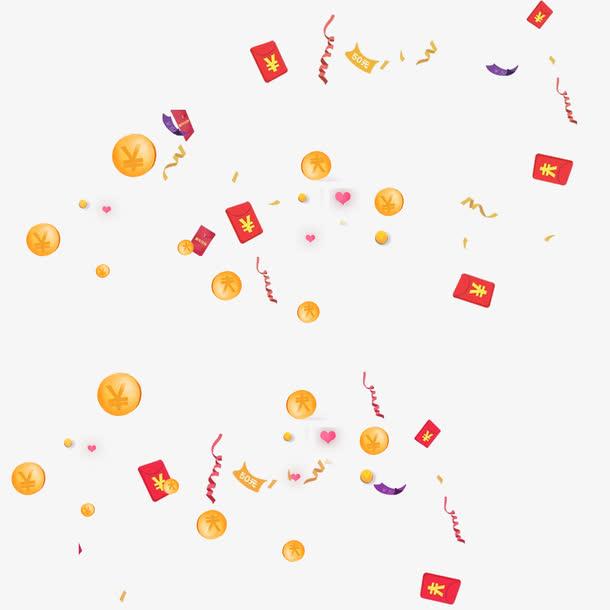 红包金币雨