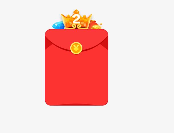 红包两周年设计