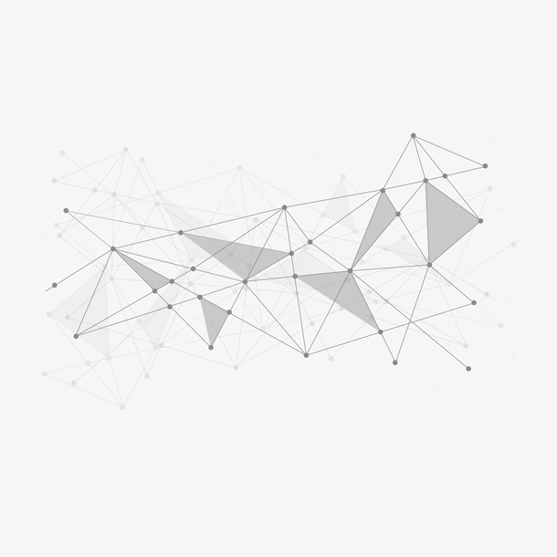 创意几何抽象科技矢量装饰