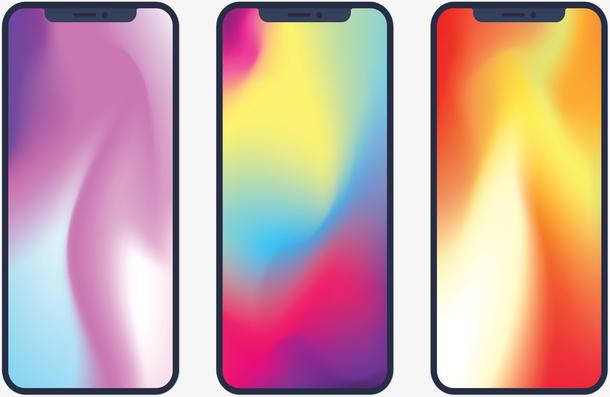 炫彩屏幕苹果手机