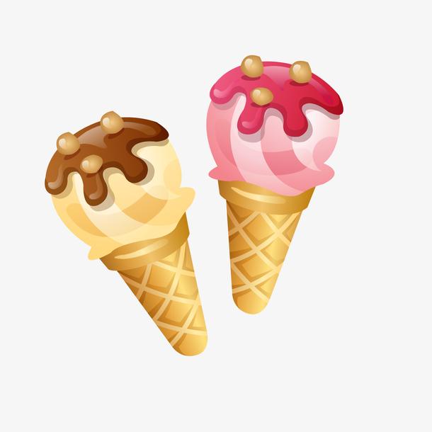 甜筒冰淇淋食物设计
