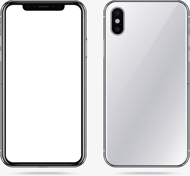 灰色后盖苹果手机
