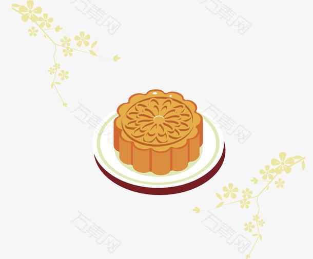 美味中秋节快乐月饼