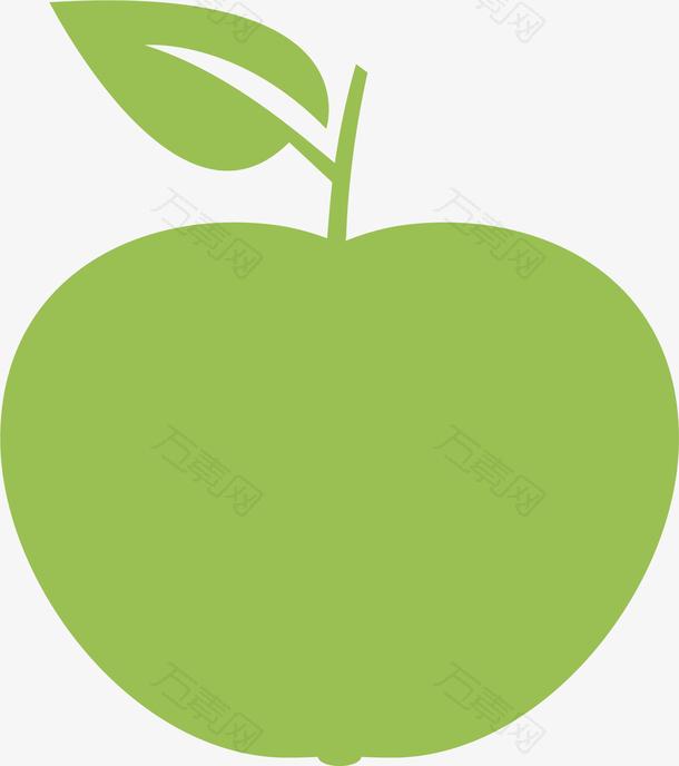 环保绿色苹果