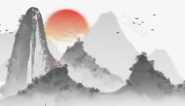 中国风白露节气banner