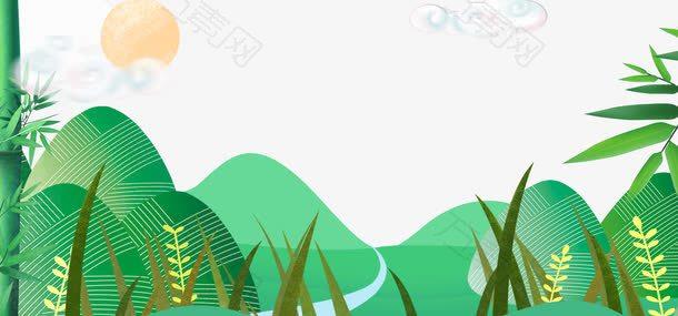 端午节中国风节日主题边框