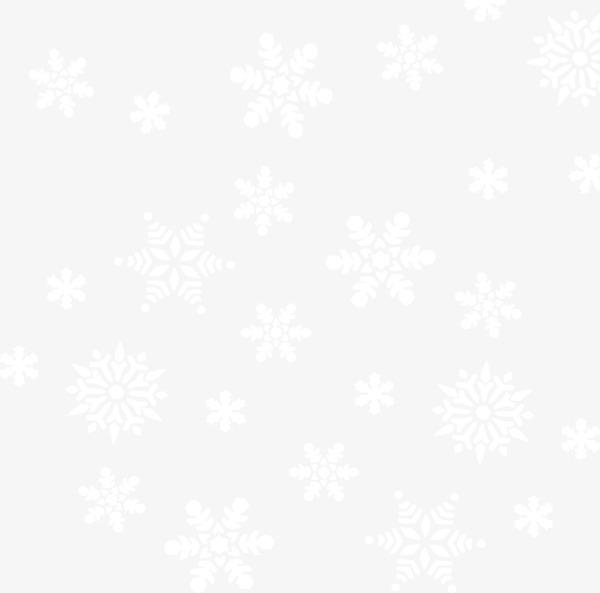 新年雪花漂浮白色