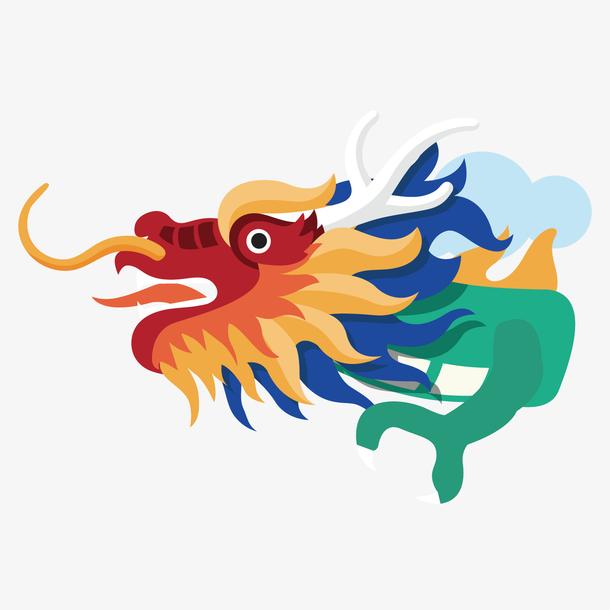 中国龙矢量