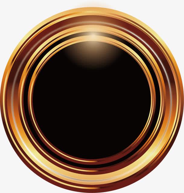 黑色水晶按钮