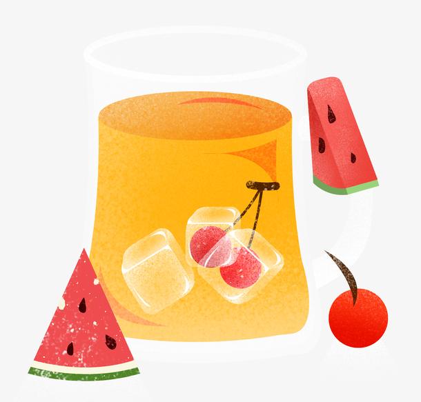 啤酒节酒杯夏季狂欢娱乐美食水果