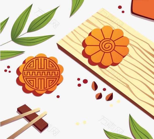 美味庆祝中秋月饼