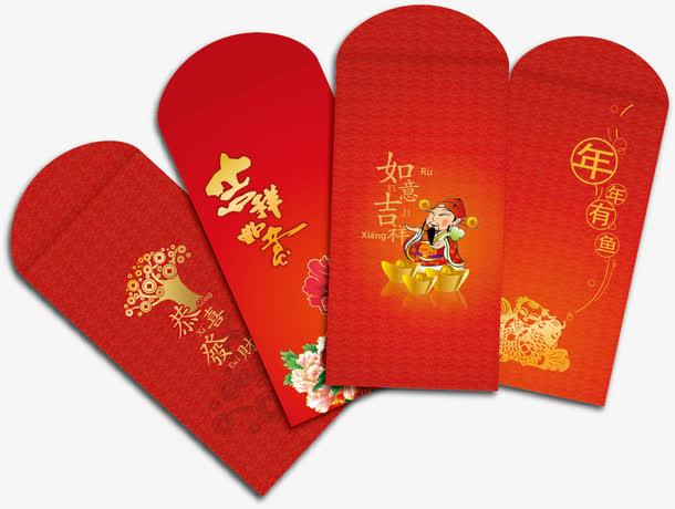 新年红包促销背景素材