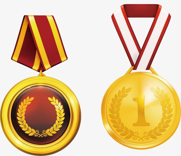 奖品创意金牌