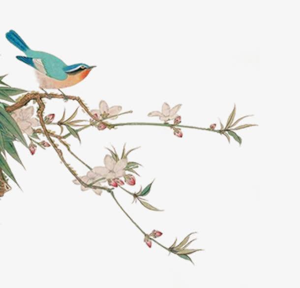 清明节唯美旅游清新鲜花